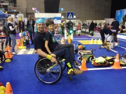 Kresz-suli nap fogyatékkal élő közlekedőkkel 6.Kép