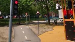 For-Vid napelemes játszótéri jelzőlámpa gyalogosátkelőhöz 2.Kép